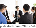 Business People Corporate Communication Meeting in office 29435246