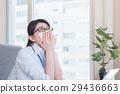 事业女性 文书工作 花粉过敏 29436663