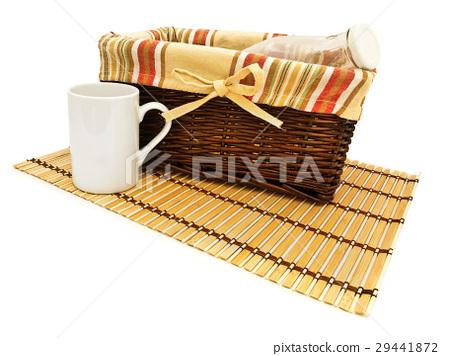 Basket With Bottle 29441872