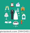 Wedding set illustration 29443401