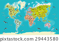 world map vector illustration 29443580