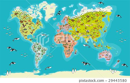 world map vector illustration 29443580