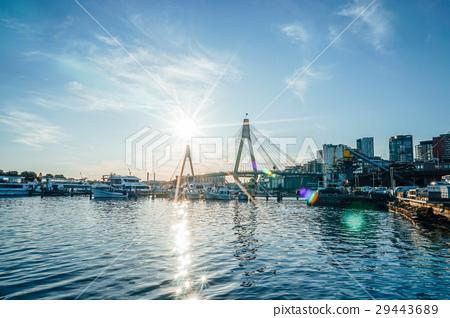 Bridge and sunshine 29443689