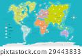 world map vector illustration 29443833