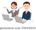 辦公桌工作 29445634