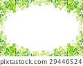 翠绿 鲜绿 树叶 29446524