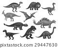 dinosaur, dino, icon 29447630