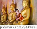亚洲 金色 僧侣 29449433