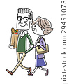 Senior couple, couple, good friends 29451078
