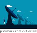 Businesswoman and radar technology 29456140