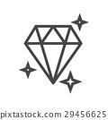 vector, diamond, icon 29456625