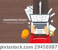 engineering, paperwork, architecture 29456987