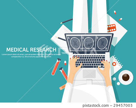 Medical flat background. Health care,first aid 29457003