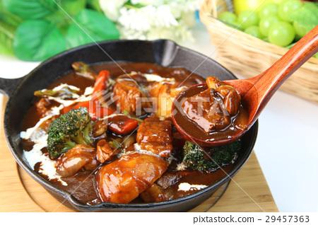 燉牛肉 燉湯 西餐 29457363