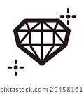 鑽石 圖標 Icon 29458161