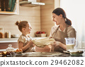 Homemade food and little helper. 29462082