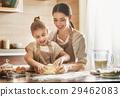 Homemade food and little helper. 29462083