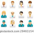 Medical staff avatars - doctors and nurses 29463154
