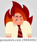 vector angry people 29464092