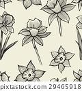 hand drawn spring flowers 29465918