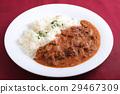 咖喱 牛肉 食物 29467309
