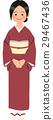 적갈색의 옷을 입고 서 나카이 씨 29467436