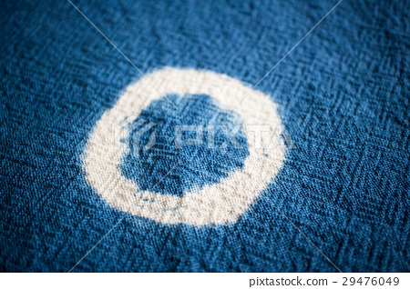 Blue dyeing fabric background. Textile texture. 29476049