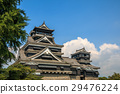 kumamoto castle, castle, castles 29476224