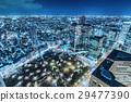 新宿的夜景 29477390