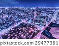 新宿的夜景 29477391