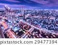 新宿的夜景 29477394