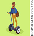 Vector illustration guy using 29478405