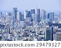 東京城市風景新宿Fukutoshin 29479327
