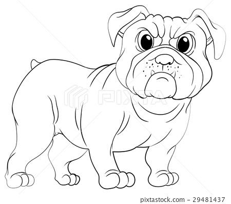 Doodles drafting animal for pug dog 29481437