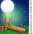 月亮 月 木头 29481447