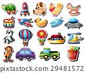 玩具 飞机 气球 29481572