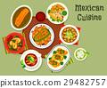 mexican, cuisine, vector 29482757