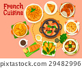 french, cuisine, vector 29482996