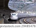 the tokaido shinkansen line, bullet train, shinkansen 29485476