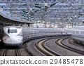 the tokaido shinkansen line, bullet train, shinkansen 29485478