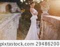 bride in white dress 29486200