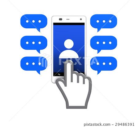 Social media concept 29486391