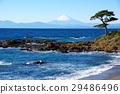 해안, 파도, 바위 29486496