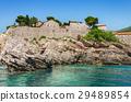 Sveti Stefan island side view 29489854