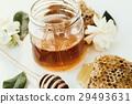 长柄勺 蜂蜜 蜂窝 29493631