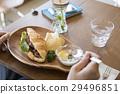 咖啡館牧場圖像女手 29496851