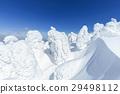 摻鋁氧化鋅 覆有霜的樹 冰霜覆蓋的樹木 29498112