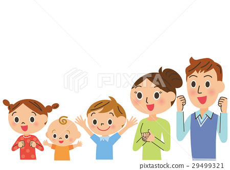 Family who are pleased 29499321