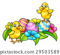 Easter Eggs and Chicks 29503589