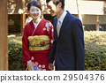 person, heterosexual couple, japanese clothing 29504376